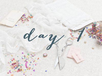 Sierra Sew-Along: Day 1