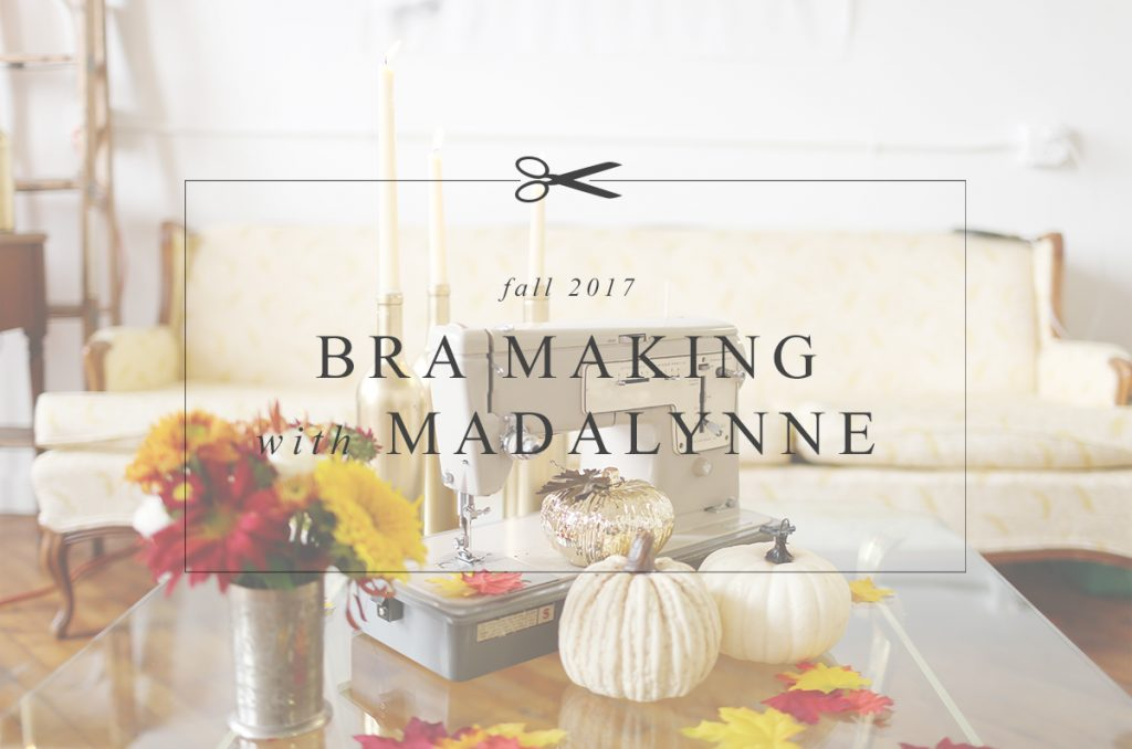 Sign Up Now! Bra Making with Madalynne Fall 2017