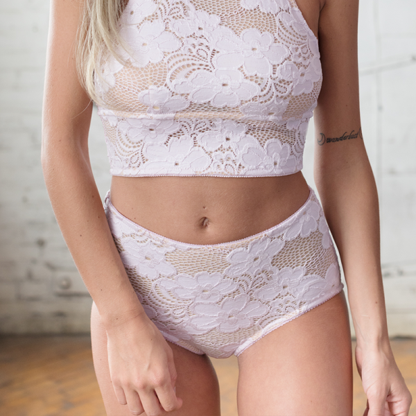 Lavender High Waisted Panty