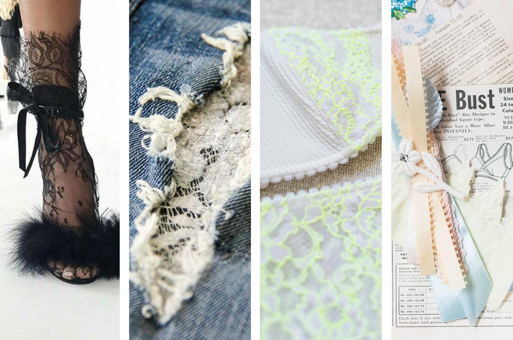 4 Ways To Use Leftover Lace