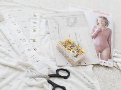 Madalynne X Simplicity 8435 Bodysuit Snap Crotch Tutorial