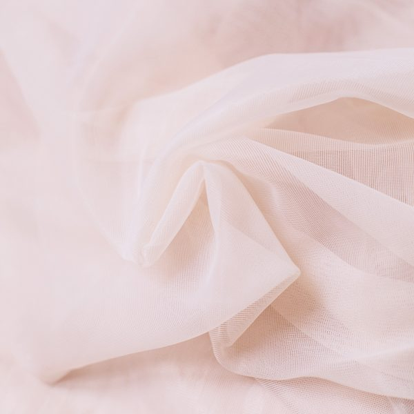 Blush Sheer Lining Fabric for Lingerie by Madalynne Intimates