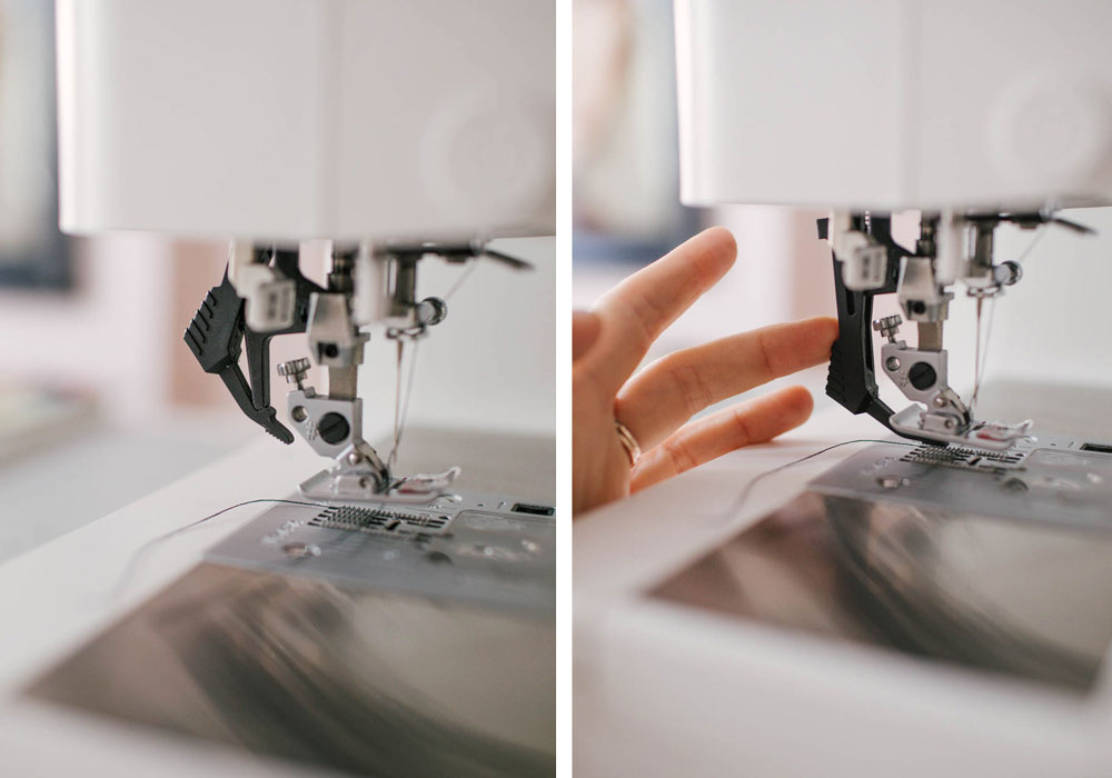 sewing machine for lingerie