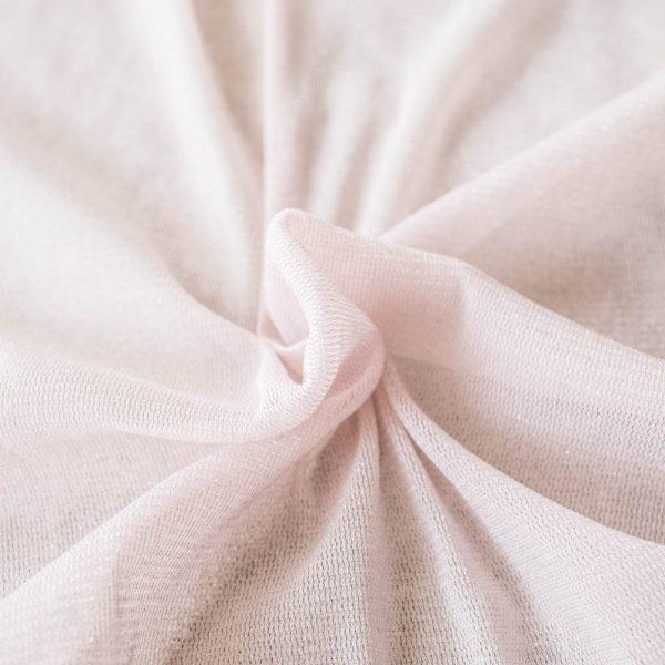 blush pink mesh fabric