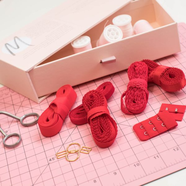 Elastic trimmings for lingerie sewing by Madalynne Intimates
