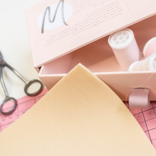 polylaminate foam for lingerie sewing