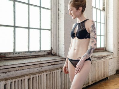 DIY black lingerie by Madalynne Intimates