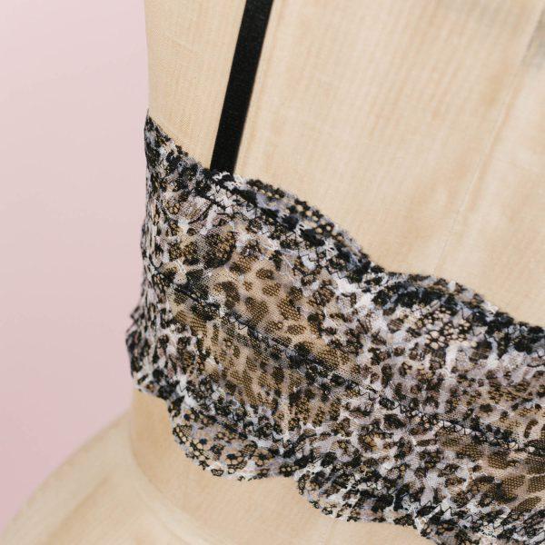 leopard bralette top