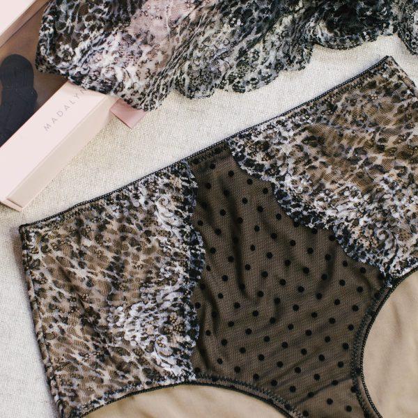leopard underwear diy
