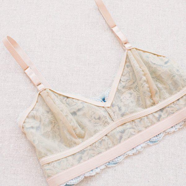 Madalynne X Simplicity 8228 lingerie sewing pattern