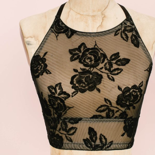Noelle bralette free bralette pattern by Madalynne Intimates