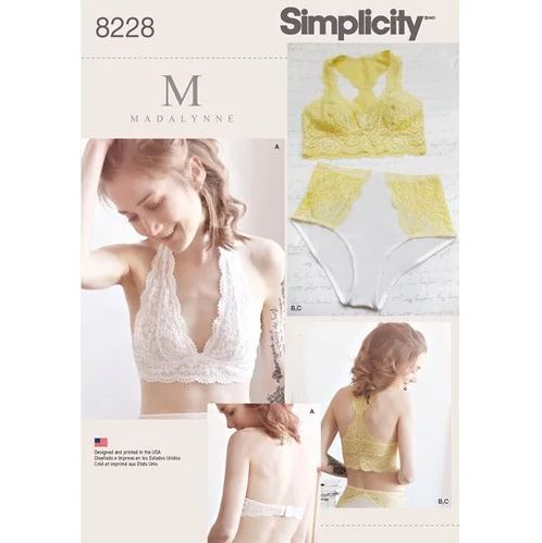 Madalynne Intimates DIY lingerie sewing patterns
