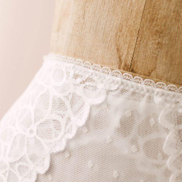 white diy underwear