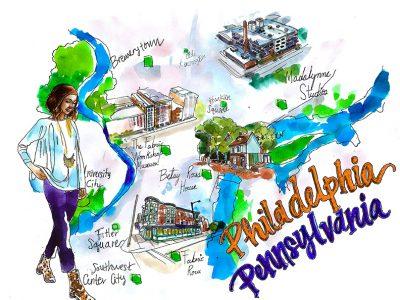 philadelphia city guide by Madalynne Intimates