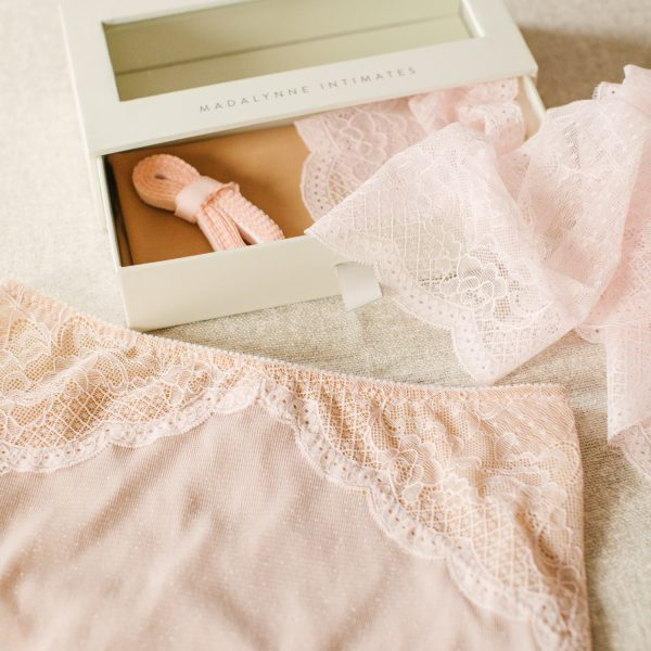 pink DIY underwear