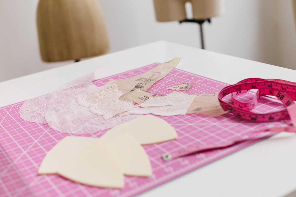 how to make a padded bra