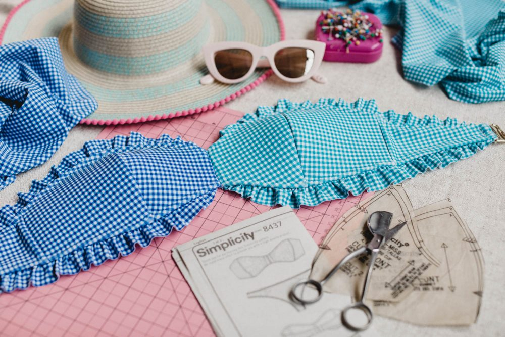 Let your creativity shine with Madalynne's DIY bikini. Shop Madalynne's DIY bikini kits and receive all fabric + supplies to make your own me-made bikini set. Learn more.