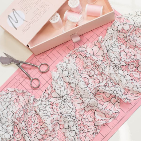 lace fabric for sewing lingerie by Madalynne Intimates