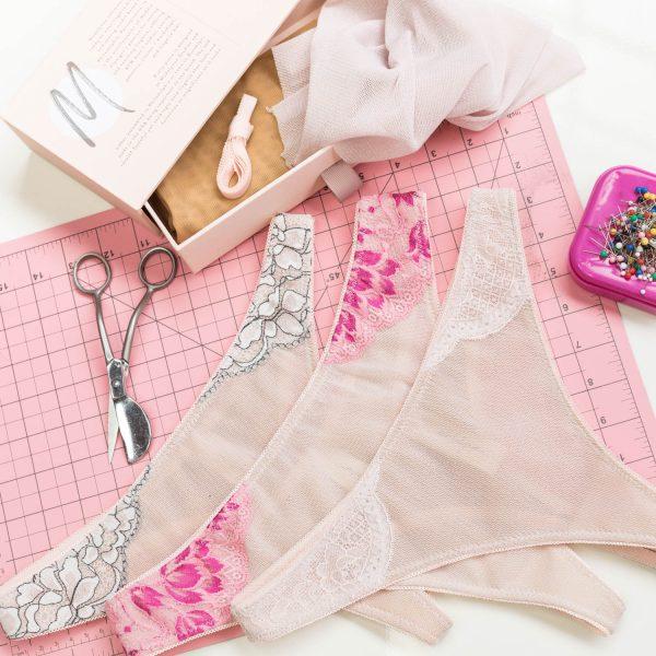 DIY thong sewing kit
