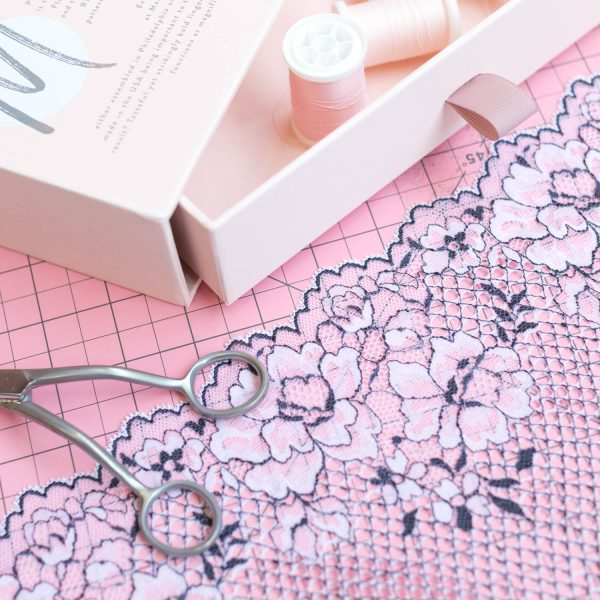 lingerie lace for bra making by Madalynne Intimates