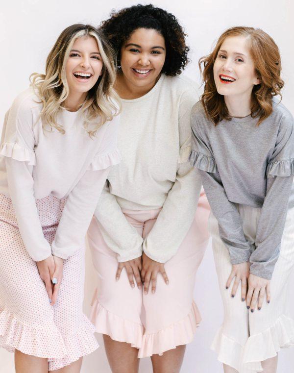 Madalynne X Simplicity 8995 pajama sewing pattern