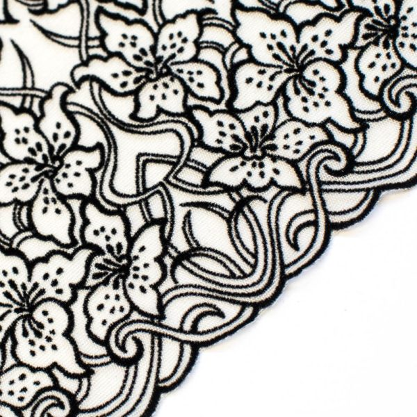 Italian lace fabric for lingerie sewing by Madalynne Intimates