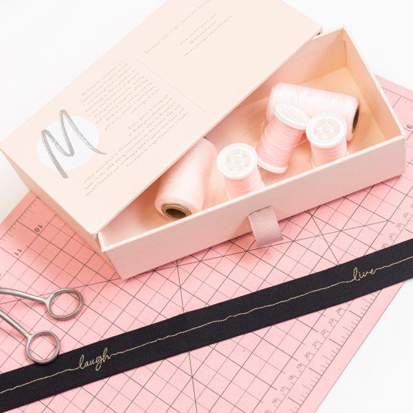 bra making elastic trims by Madalynne Intimates
