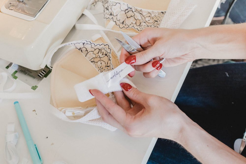 learn how to sew lingerie with Madalynne Intimates