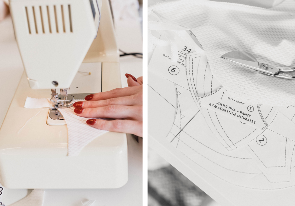 learn to sew lingerie with Madalynne Intiimates