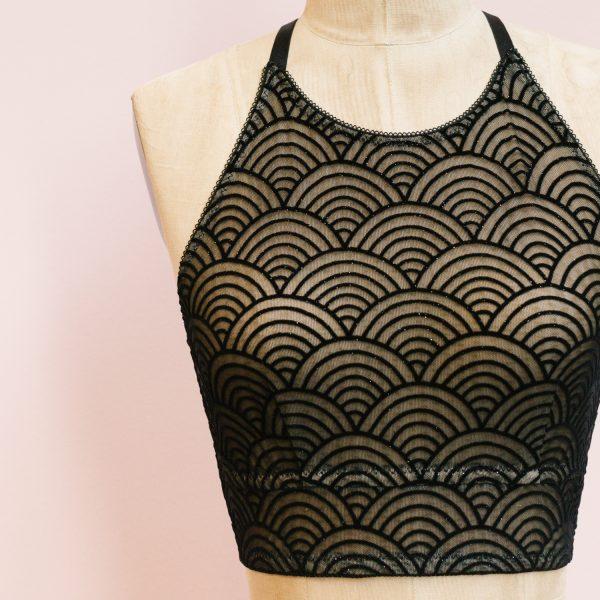 Noelle free bralette pattern by Madalynne Intimates