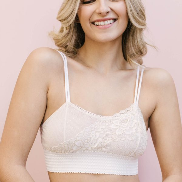 Eloise bralette sewing pattern by Madalynne Intimates