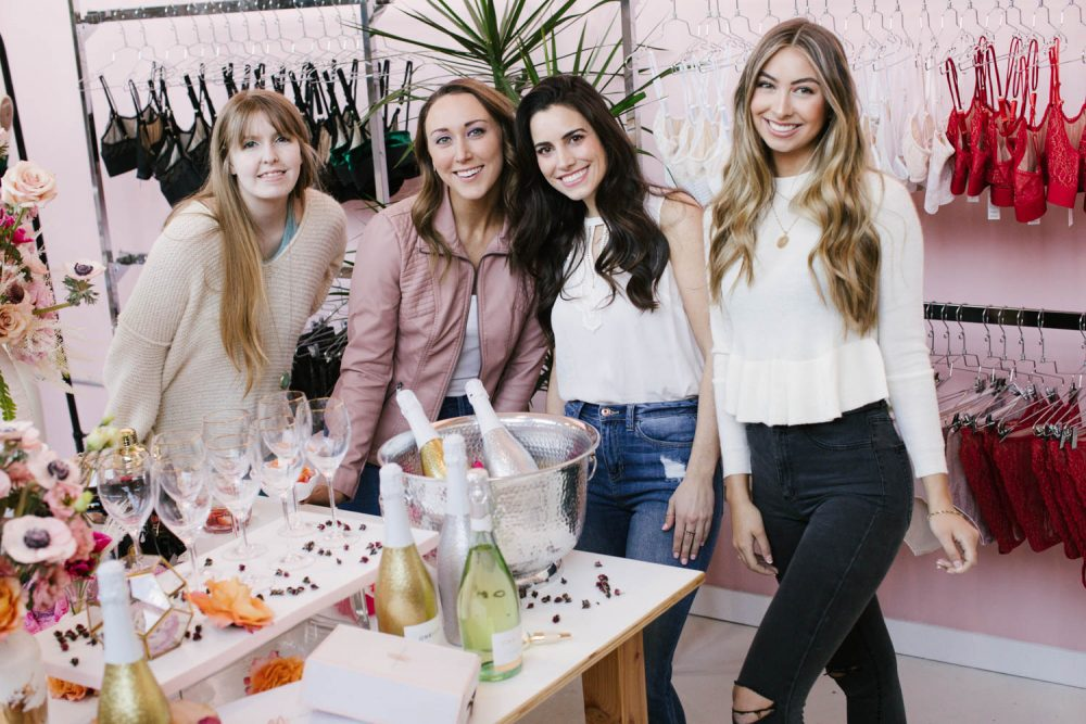 Unique bachelorette party idea Philadelphia at Madalynne Intimates