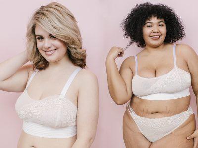 plus size lingerie versus full bust lingerie by Madalynne Intimates