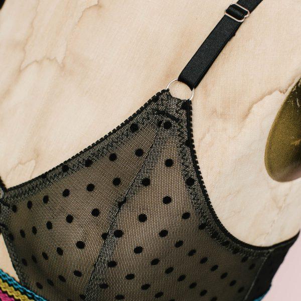 Barrett bralette pattern d cup by Madalynne Intiamtes