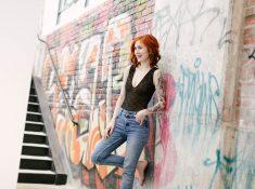 DIY bodysuit by Madalynne Intimates using Madalynne X Simplicity 8435