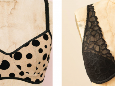 Difference between a full band and partial band bra by Madalynne Intimates