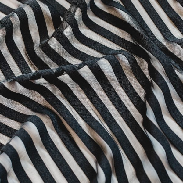 stripe lingerie fabric