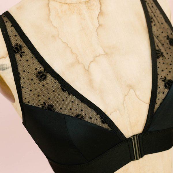 bralette sewing pattern by Madalynne Intimates