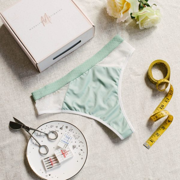 underwear sewing pattern by Madalynne Intimates