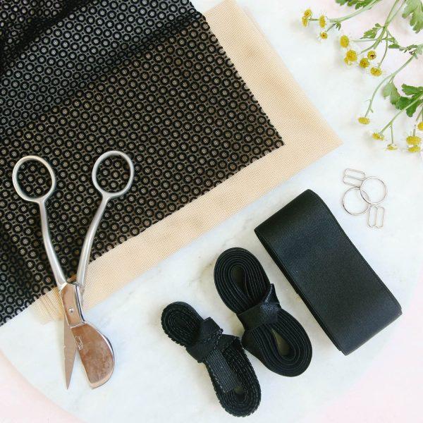 Barrett bralette sewing pattern by Madalynne Intimates