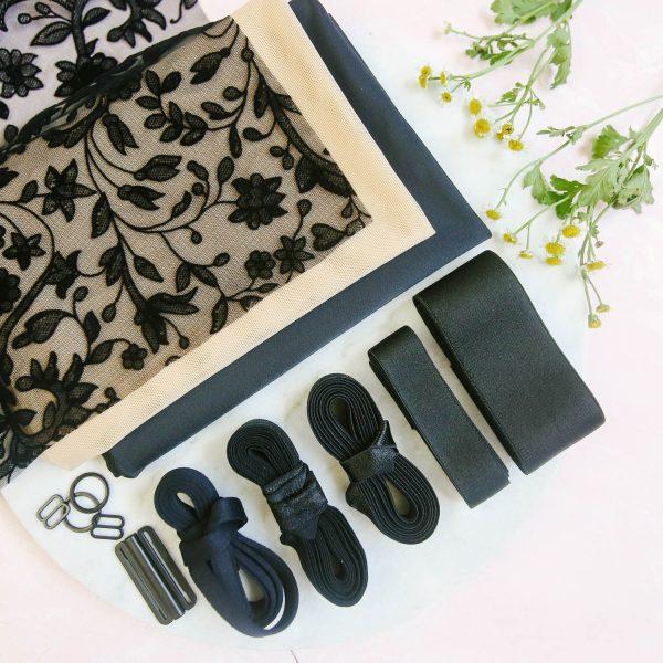 Maris bralette sewing pattern by Madalynne Intimates