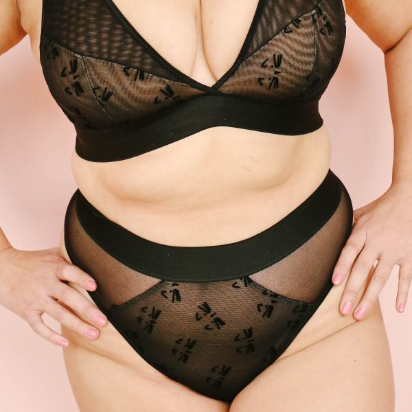 plus size bralette by Madalynne Intimates
